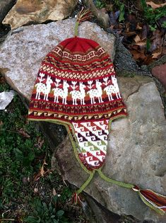 Ravelry: distractedknit's Andean Chullo Hat