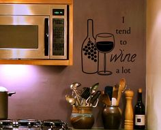Wine Is Sooooo Good For You Wine Theme Kitchenkitchen