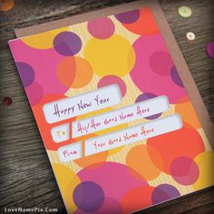 write your name on happy new year card picture in beautiful style best app to write names on beautiful collection of new year wishes pix