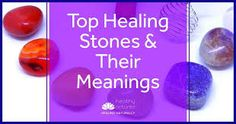 """Discover 5 top healing crystals and their meanings. These are our recommended stones for energy work and we believe are a """"must have"""" in your healing kit. Chakra Healing Stones, Healing Crystals, Interpersonal Relationship, Healing Words, Lucid Dreaming, Crystal Meanings, Natural Energy, Negative Emotions, Natural Health"""
