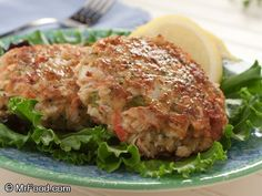 Smart Crabcakes | mrfood.com