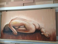 Acryl schilderij