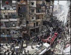 Painting Art   Syria War