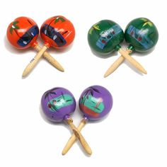 No Fiesta is complete until you have a set of maracas for everyone to use. $8.50 Cinco De Mayo, Fiesta, Luau, beach parties