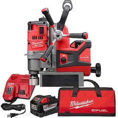 M18 Fuel 1-1/2 Lineman Magnetic Drill High Demand Kit Milwaukee 2788-22HD New