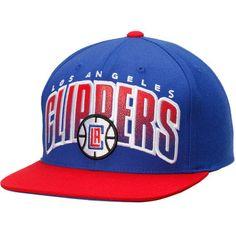 pretty nice e5fa7 e73ad LA Clippers Mitchell  amp  Ness Current Logo Double Bonus Adjustable Hat -  Royal Nba Los