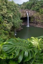 Kaluahine Falls, Big Island, Hawaii, USA