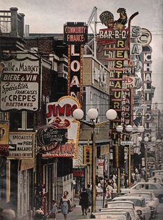 Old pictures of Montreal many many years ago. Quebec Montreal, Old Montreal, Montreal Ville, Quebec City, Old Pictures, Old Photos, Province Du Canada, Grands Lacs, Expo 67