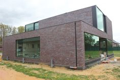Alulim | Aluminiumconstructies | Limburg | Realisaties | Woningbouw | Moderne woning, Opglabbeek