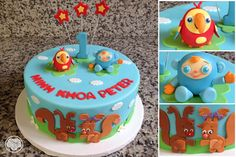 Baby First TV cake. Baby Boy 1st Birthday Party, Cake Birthday, First Birthday Parties, Birthday Ideas, Baby Cakes, Girl Cakes, Baby First Tv, 1st Birthdays, Opals