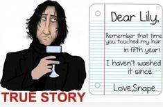 From his dark and troubled childhood to his mistreatment of Harry Potter, Severus Snape makes absolutely no sense.