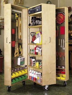 storag cabinet, shop storage, storage cabinets, garage storage, wood shop organization, craft rooms