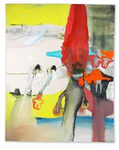 Jussi Goman, Sissään ulos, sissään ulos, 150 x 120, Oil and acrylic / The winner of 2003