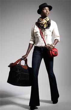 Longchamp \u0026#39;Le Pliage\u0026#39; Expandable Travel Bag (21 Inch)