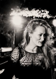 Meryl Streep at the Academy Awards in 1979.