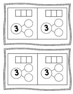 Number Bond 1-5 Freebie
