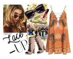 """""""Lace It Up!"""" by westcoastcharmed on Polyvore featuring Kendall + Kylie, Kiss The Sky and laceup"""