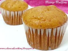 Mango muffins a vegan recipe. Enjoy the fresh taste of mangoes without any guilt. Its loaded with all the healthy ingredients without use of any artificial flavour or colour.