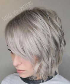 712 Best Short Grey Haircuts Images In 2019 Pixie Cuts Hair Ideas