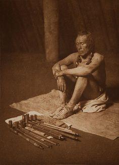 In the Medicine Lodge - Arikara 1908