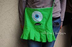Mike Wazowski  Inspired Shoulder Bag