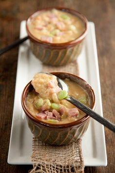 Check out what I found on the Paula Deen Network! Butter Bean Soup http://www.pauladeen.com/recipes/recipe_view/butter_bean_soup