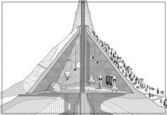 Neck of the Moon Space Debris, Past Present Future, Architecture Drawings, Modern Man, Drawing S, Us Travel, Moon Design