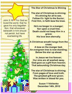 Inspirational Christian Christmas Poems | Christmas Poems