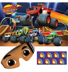 Blaze And The Monster Machines Party Game Party Themes and Decorations | Party Corner #BlazeAndTheMonsterMachines #PartyCorner