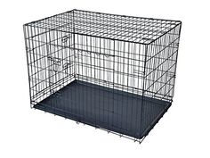 Exacme 42' Pet Dog Folding Wire Crate Cage Kennel with ABS Tray *** See this great image  : Dog kennels