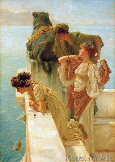 Sir Lawrence Alma-Tadema - Coign of vantage