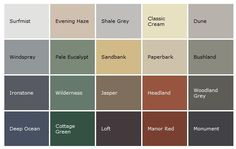 Image result for paint colors mushroom