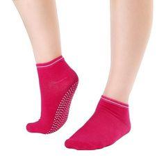 Women's Fitness Pilates Colorful Non Slip Socks