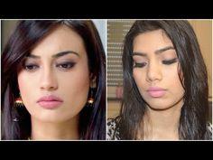 Surbhi Jyoti inspired makeup look from Qubool hai. - YouTube