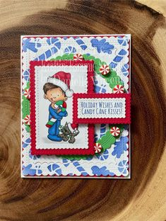 September 2021 New Release at Kraftin' Kimmie Stamps Holiday Wishes, Candy Cane, Stamp, Decor, Decoration, Barley Sugar, Stamps, Candy Canes, Decorating
