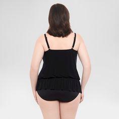 Women's Plus Size Blouson One Piece Swimsuit - Dreamsuit