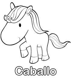 colorear-dibujo-de-caballo-pintar-imprimir.gif (505×550)