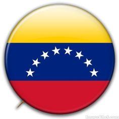 Venezuela flag badge