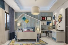 Bright Kids Bedrooms to Inspire at Coastal Lifestyle today:  #home #homes #interior #interiordesign #homestyle #kidsbed #kidsbedroom #beachstyle #beachhouse #decorate #architecture #style #styles #coastal #beachstyle #beachhome #coast #coastalstyle #interiordesign #interiordecor #design #designblog #designblogger #houseinterior #interiorideas #coastallifestyle #kids #bedroom #decor