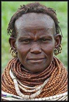 Africa   Nyangatom woman. Omo Valley, Ethiopia   © Henk Bogaard