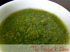 Salsa Verde by The Foodies' Kitchen, via Flickr
