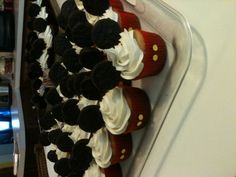 Mickey Mouse cupcakes for Mason's first birth day.
