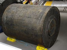 The #bouncing bomb. The famous Dambusters raid from 1943 used this ingenious device to demolish some of the largest hydroelectric dams in Germany, temporarily crippling their production facilities during World War 2. Keep your eyes on our boards over the next two days for a commemorative #Dambusters board! #WorldWar2