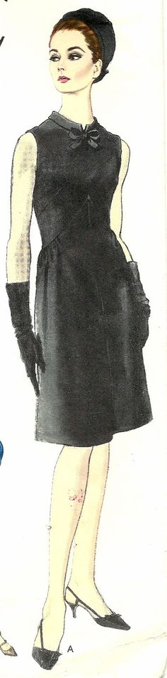 Taking note of the way that she is wearing her hat - Vogue Couturier Design 1493 - Fabiani - UNCUT with sew-in label - Bust 31
