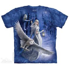 Midnight Messenger T-Shirt by Anne Stokes | TheMountain.com
