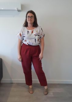 When inspiration strikes - McCalls 7661 Colored Pants, Gorgeous Fabrics, Work Wardrobe, Different Fabrics, Wearing Black, Soft Fabrics, Pure Products, Sewing, How To Wear