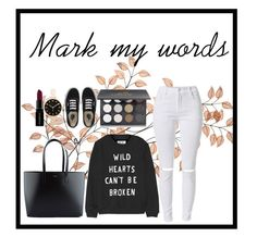 """""""Mark my words"""" by minnie5544 ❤ liked on Polyvore featuring Zoe Karssen, Shany, Yves Saint Laurent, Vans, Marc by Marc Jacobs, Smashbox, women's clothing, women's fashion, women and female"""