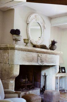 Fireplace. John Laundry. could put his master stone mason skills to work on something like this.