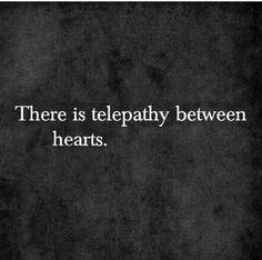 Telepathy between hearts ♡