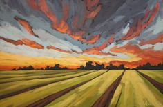 Jennifer Woodburn - Celebration Sky 20x30in